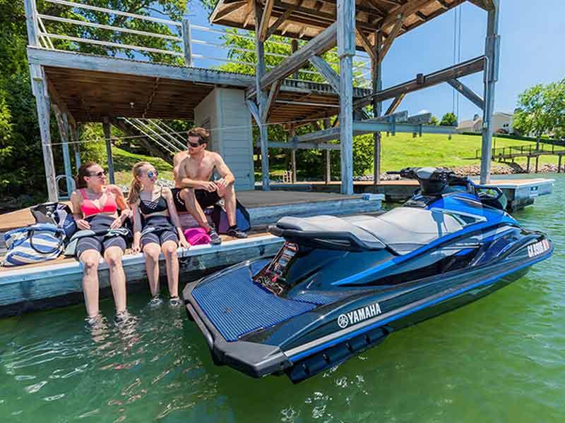 Woodard Marine 2018 Yamaha VX Deluxe Blue 1
