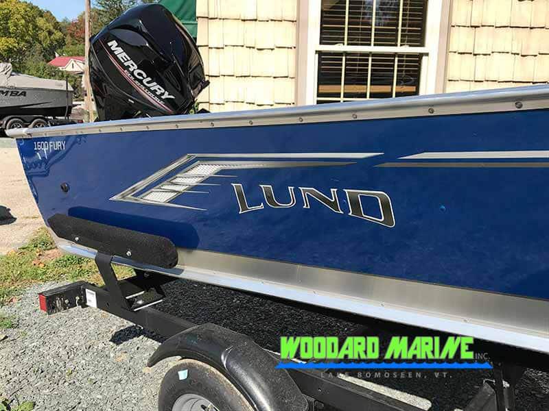 Woodard Marine 2020 Lund 1600 Fury Tiller 3